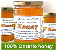Buy 100% Ontario honey